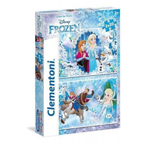 Clementoni 2x20 elementów frozen