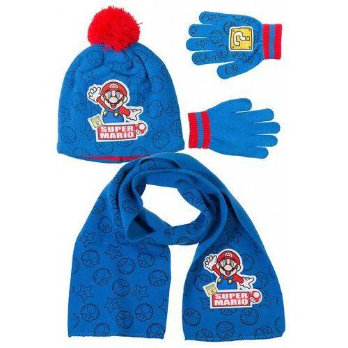 Czapka + rękawiczki + szal mario1x35ai marki Mario bros