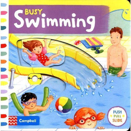 Busy Swimming, oprawa kartonowa