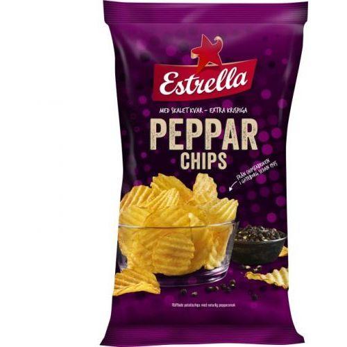 Estrella - Peppar Chips - chipsy o smaku pieprzu - 275g - ze Szwecji (7310532106648)