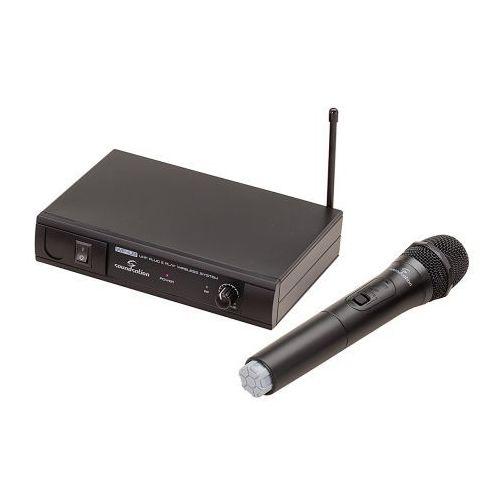Soundsation WF-U11HB system bezprzewodowy UHF, pojedynczy doręczny