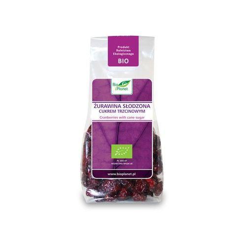 Bio Planet: żurawina słodzona cukrem trzcinowym BIO - 100 g