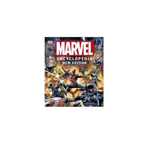 Marvel Encyclopedia New Edition (448 str.)