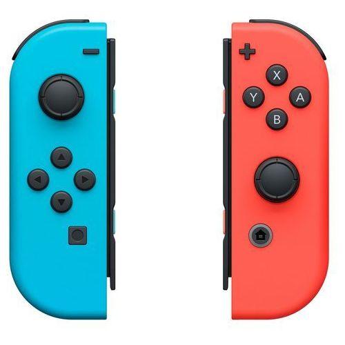 Kontrolery switch czerwony i niebieski + zamów z dostawą jutro! + darmowy transport! marki Nintendo