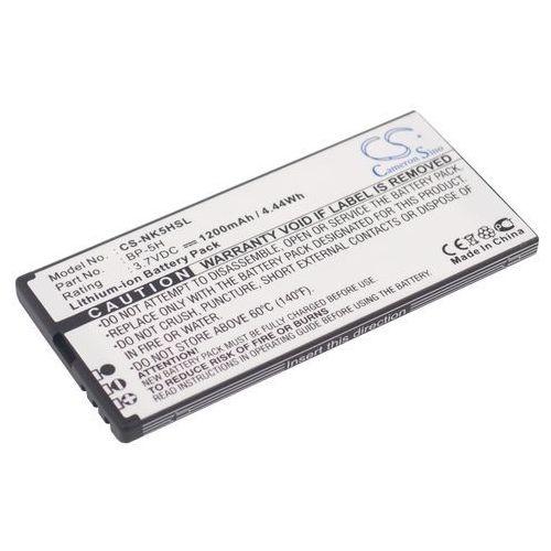Nokia lumia 701 / bp-5h 1200mah 4.44wh li-ion 3.7v () marki Cameron sino