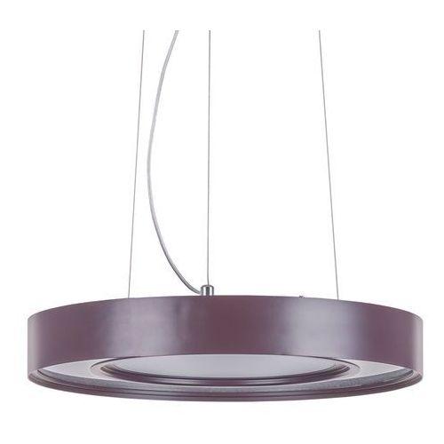 Lampa wisząca karpo ad15061-1c coffee zwis 1x24w led brązowa marki Italux