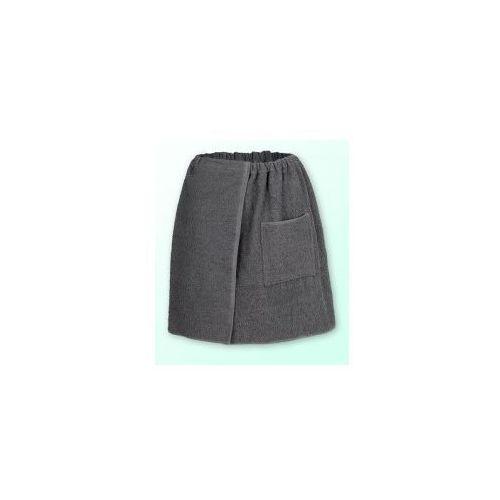 Produkcja własna Sauna kilt ręcznik szary 100% bawełna męski 50*140