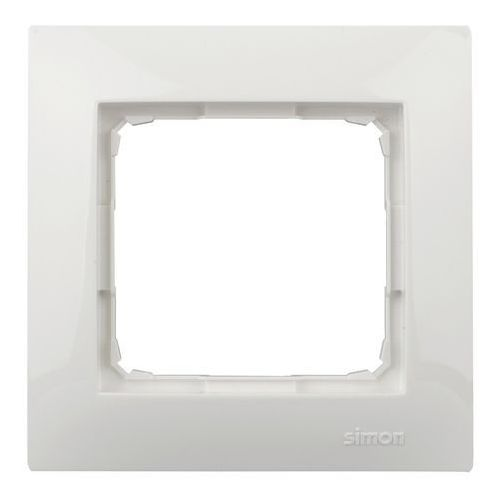 Ramka 54 dr1/11 1- krotna biały marki Kontakt-simon