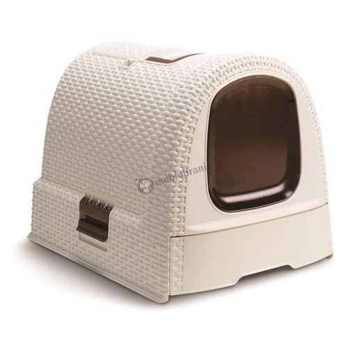 Kuweta dla kota Curver Petlife Litter Box - Kremowa - sprawdź w Meblobranie.pl