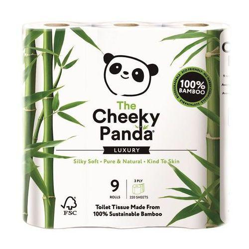 Papier toaletowy bambusowy trzywarstwowy 9 rolek - marki Cheeky panda