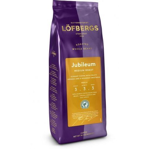 Lofbergs JUBILEUM Medium Roast - ziarnista - 400g
