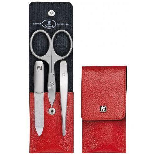 Zwilling j.a.henckels Zwilling twinox® manicure set- 3 el. etui skóra bydlęca nożyczki (4009839186493)