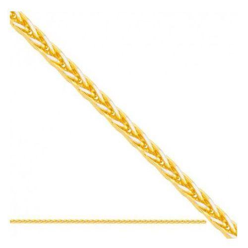 Łańcuszek złoty pr. 585 - lv002a marki Rodium