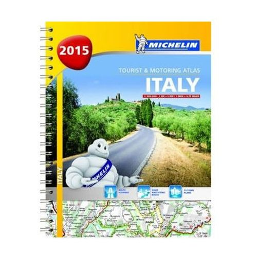Italy 2015. Tourist & Motoring Atlas - Praca zbiorowa (9782067200760)