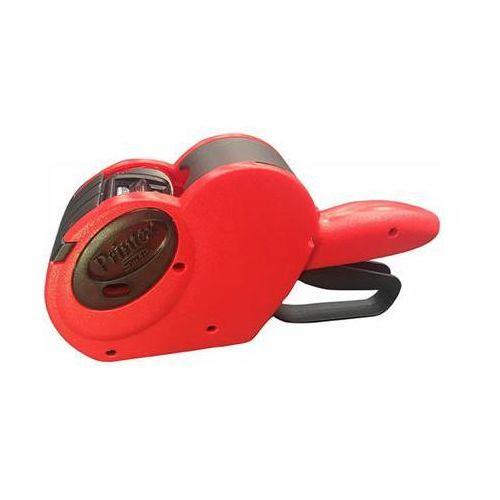 Metkownica PRINTEX Smart, jednorzędowa, 8 znaków, czerwona