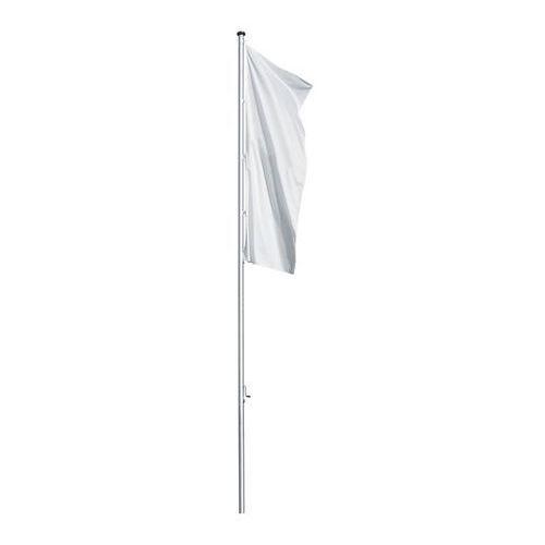 Maszt flagowy z aluminium PRESTIGE, bez wysięgnika, wys. nad podłożem 8 m, Ø 100