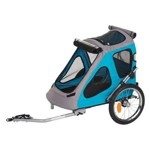 Przyczepka rowerowa smart - dł. x szer. x wys.: 123 x 71 x 105 cm (maks. 30 kg)  darmowa dostawa od 89 zł i super promocje od zooplus!  -5% rabat dla nowych klientów marki Zooplus exclusive