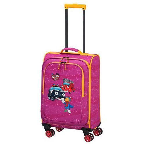 bohaterowie miasta walizka mała kabinowa dla dzieci 20/54 cm / różowa - pink marki Travelite