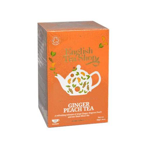 English tea shop Ets ginger peach tea 20 saszetek