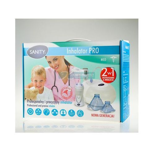 Inhalator PRO Sanity 1 sztuka (inhalator)