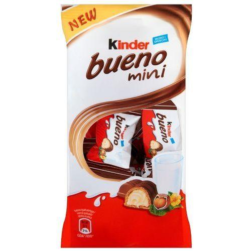 Mini Wafel Kinder Bueno w mlecznej czekoladzie wypełniony mleczno-orzechowym nadzieniem 108 g (20 sztuk)