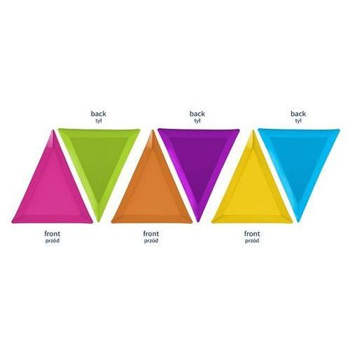 Ap Talerzyk potworki mix kolorów 19,5x23,5x23,5 [6 szt.] -.