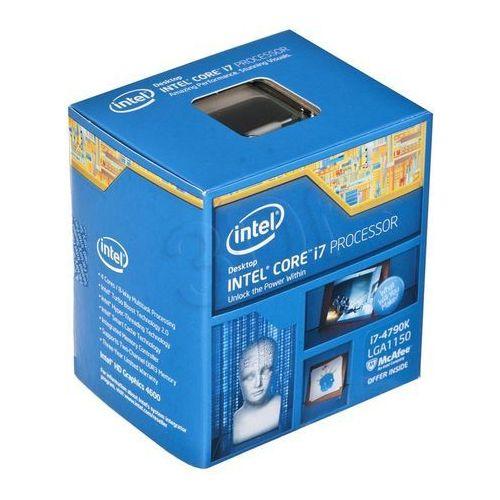 core i7-4790k 4.0 ghz - devils canyon - socket 1150 - box wyprodukowany przez Intel