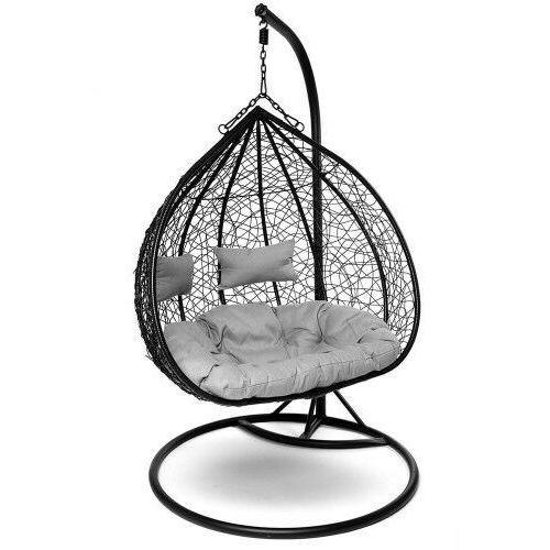 Emwomeble Fotel wiszący do ogrodu - cocon 2 osobowy - brązowy (9999001220658)