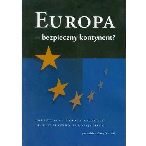 Europa - bezpieczny kontynent, Anna Antczak