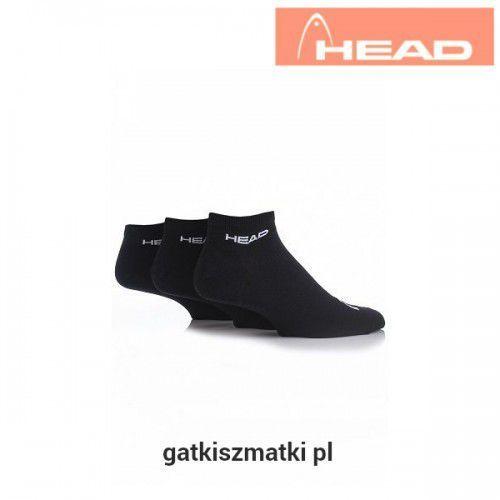 Skarpety sneaker czarne, Head