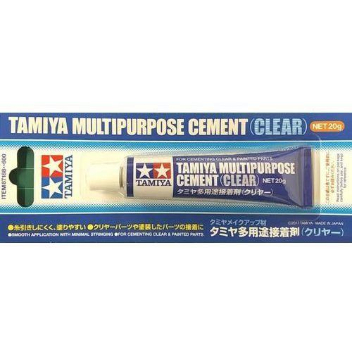 Klej przezroczysty multipurpose cement clear marki Tamiya