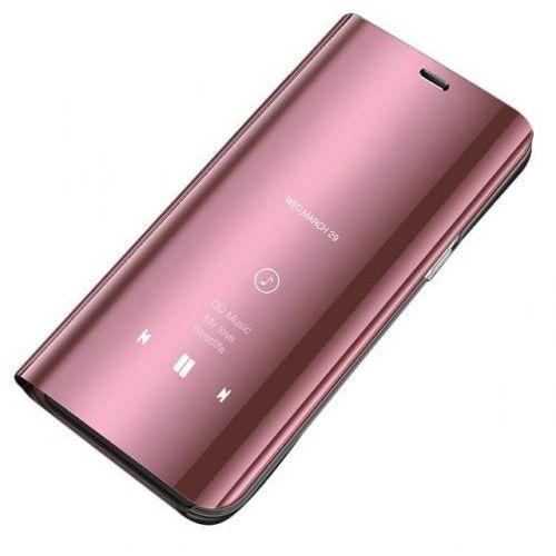 Clear view etui z klapką xiaomi redmi note 5 różowe (7426825361004)