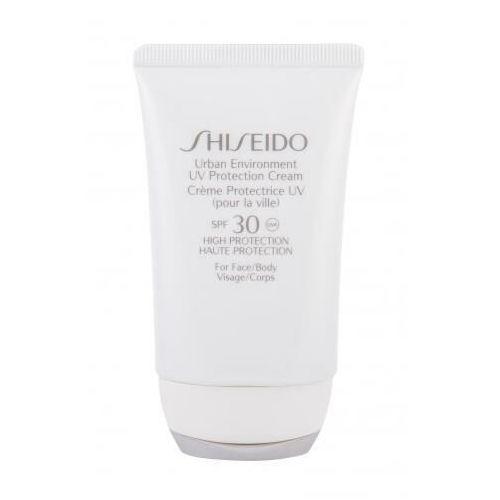urban environment spf30 preparat samoopalający do twarzy 50 ml dla kobiet marki Shiseido
