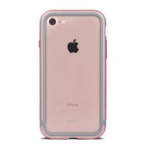 Moshi Luxe - Aluminiowy bumper iPhone 7 (Rose Pink) (4713057251092)