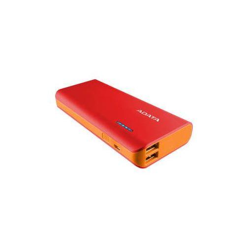 Adata Power bank pt100 10000mah (apt100-10000m-5v-crdor) czerwona/pomarańczowa