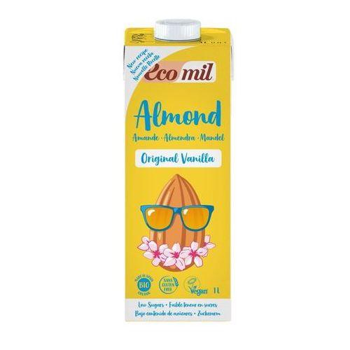 Ecomil Napój migdałowy o smaku waniliowym bio 1l (8428532210100)