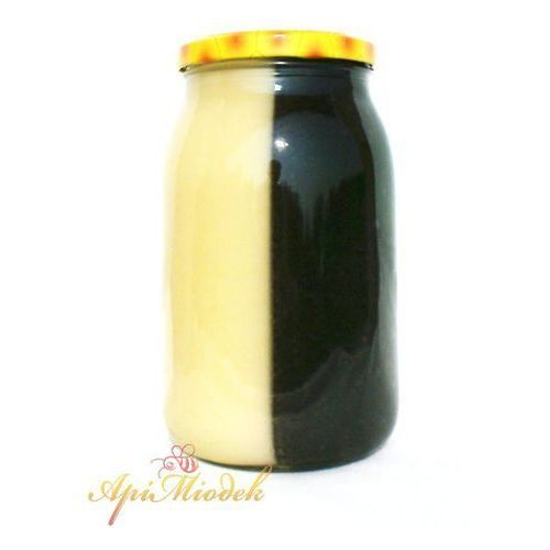 Mix miód spadziowy i rzepakowy 1,3 kg marki Pasieka apimiodek
