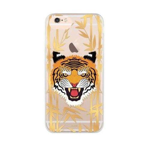 Etui iplate tiger do iphone 6/6s/7/8 wielokolorowy (28425) marki Flavr