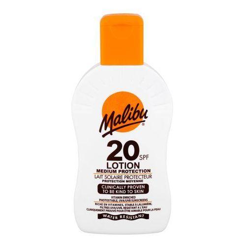 Malibu Lotion SPF20 preparat do opalania ciała 200 ml unisex