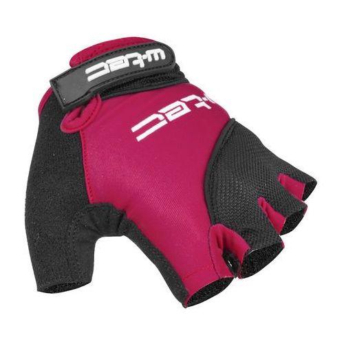 Damskie rękawice kolarskie sanmala lady amc-1023-22, fioletowo-czarny, s marki W-tec