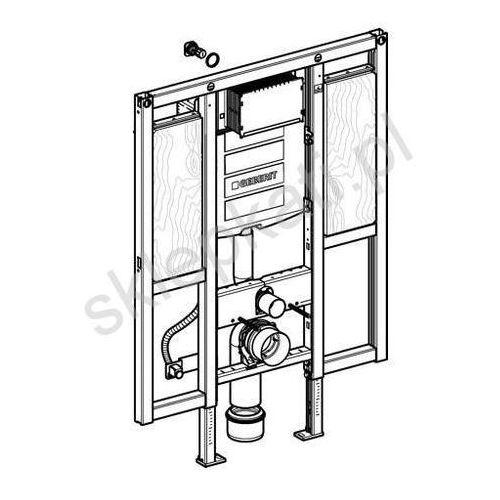Produkt z kategorii- stelaże i zestawy podtynkowe - Geberit Duofix - element montażowy do WC dla niepełnosprawnych, specjalny, UP320, Sigma, H112 111.375.00.5