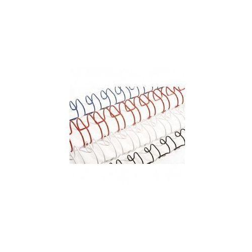 Grzbiety do bindowania drutowe, srebrne, 4,8 mm, 100 sztuk, oprawa 2-15 kartek - Super Ceny - Autoryzowana dystrybucja - Szybka dostawa - Hurt - Wyceny, BINDOP-1045