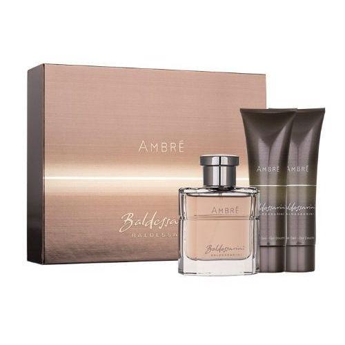 Baldessarini Ambré M Zestaw perfum Edt 50ml + Żel pod prysznic 2x 50ml