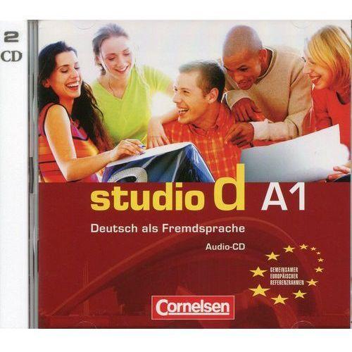 Studio d A1 Audio-CD - wyślemy dzisiaj, tylko u nas taki wybór !!!, Cornelsen