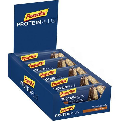 Powerbar proteinplus 33% bar box 10x90g, chocolate-peanut 2019 zestawy i multipaki (4029679778542)