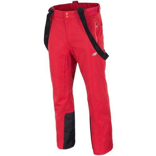 4f męskie spodnie narciarskie h4z17 spmn003 pomarańcz xxl
