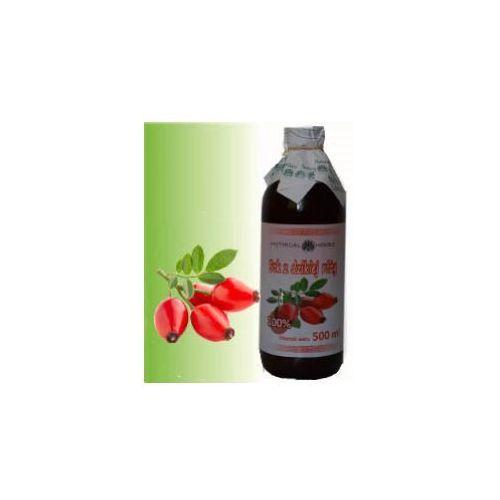 Sok z dzikiej róży 100% naturalny - 500 ml marki Herbasalin sp. z o. o.