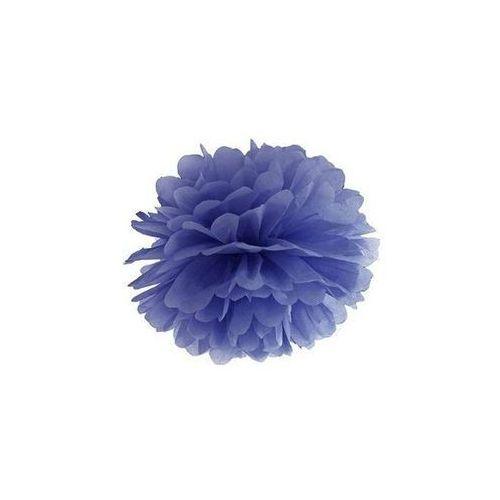 Ap Dekoracja wisząca pompon kwiat - granatowa - 25 cm - 1 szt.