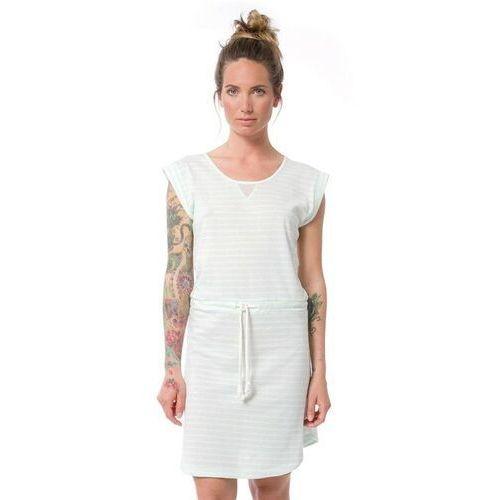 Sukienka - dalvik dusty aqua stripe (das) rozmiar: xs, Nikita