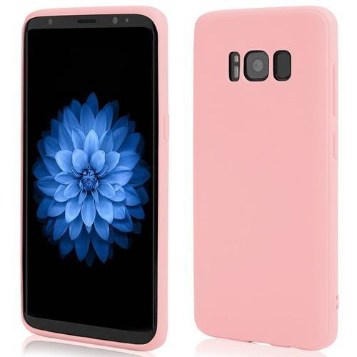 Etui KLTRADE Back Case Pudding Slim do Samsung Galaxy S8 Różowy, kolor różowy